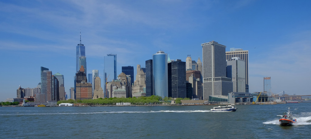 Battery Park and Lower Manhattan  by soboy5