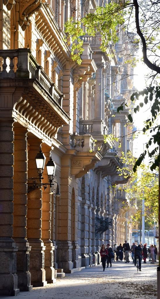 The houses of Andrássy Avenue by kork