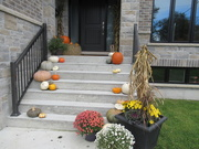 31st Oct 2018 - Thanksgiving decoration stays usually until after Halloween