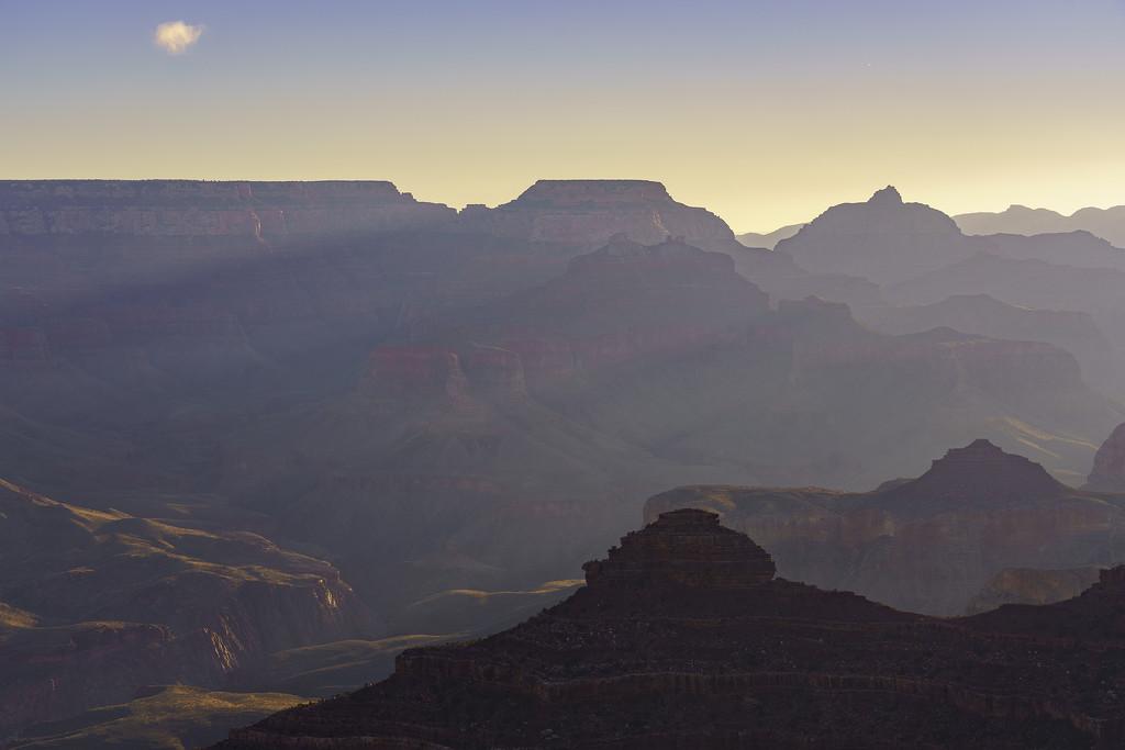 Rays At Yavapai Point Dawn  by jgpittenger