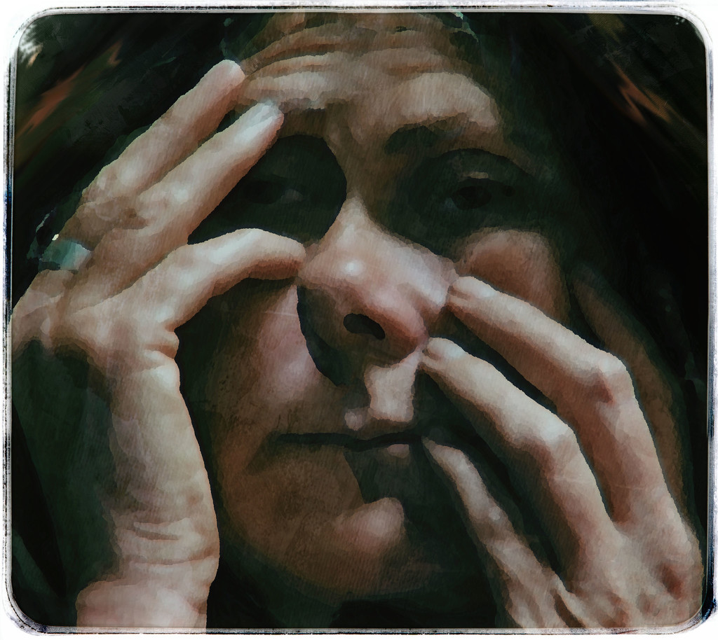 woman with hands  by kali66