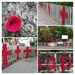 Another Church's Remembrance Display of Poppies