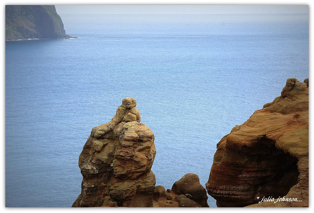 Pitt Island Sandstone Cliffs... The Lovers.. by julzmaioro