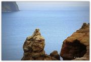 6th Nov 2018 - Pitt Island Sandstone Cliffs... The Lovers..