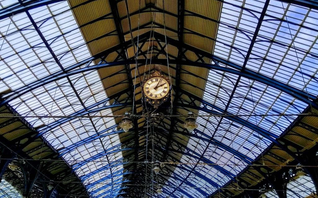Station Roof (Interior) by 4rky