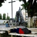 In front of Douala church
