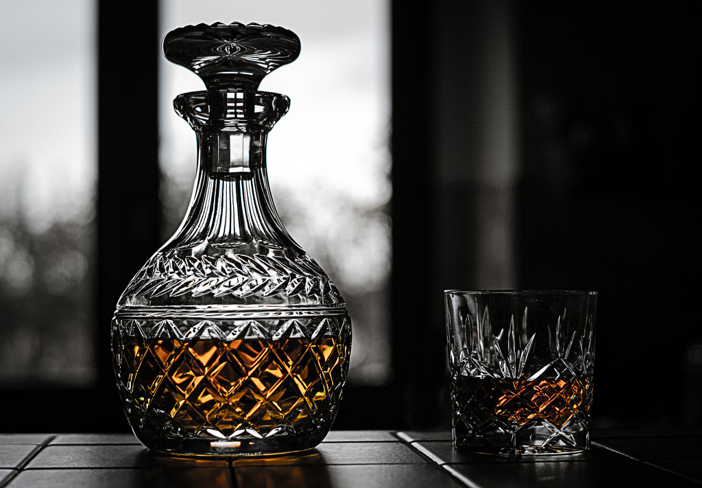 Paimpont 2018: Day 228 - Decanter and Glass by vignouse