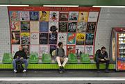 8th Nov 2018 - Waiting at the Metro Station