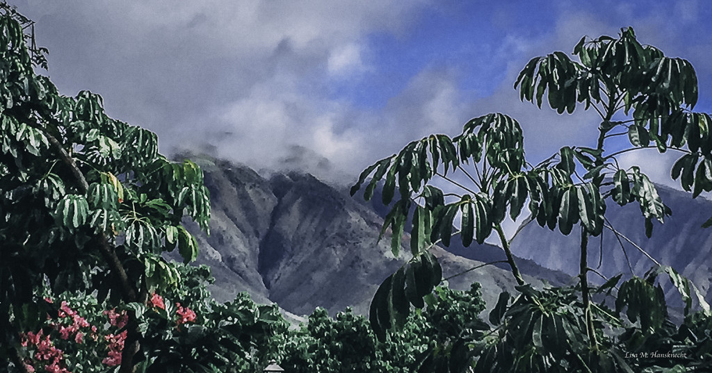2015-11-25 maui mountains and lush greens by lisahans