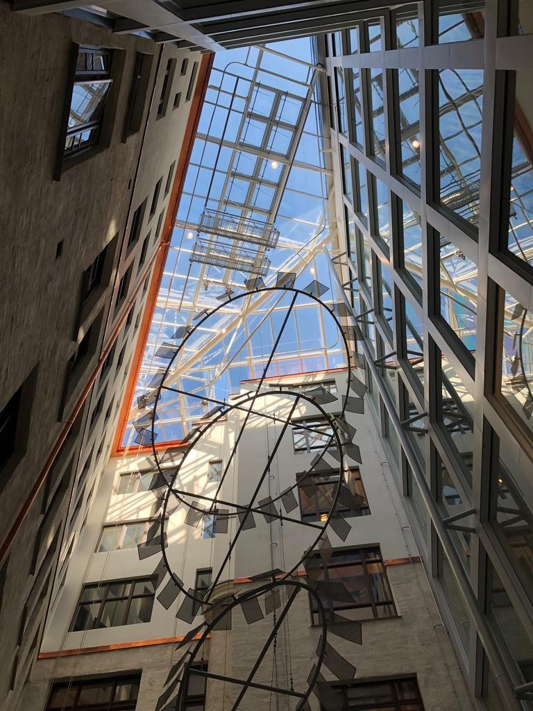 Atrium Skylight by bankmann