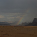 Rainbow over Wadi Rum