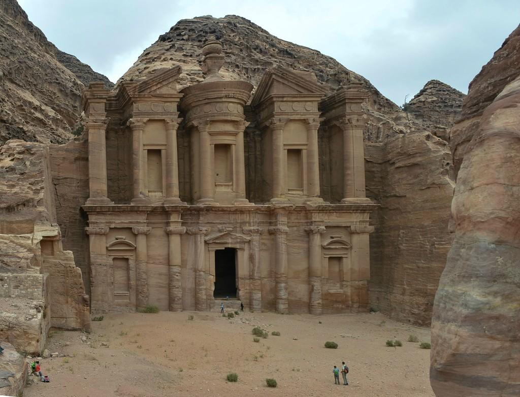 Monastery Petra by caterina
