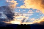 11th Nov 2018 - evening clouds