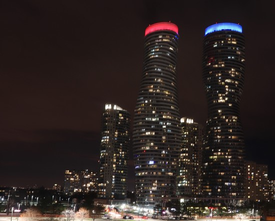 Mississauga towers by chloette