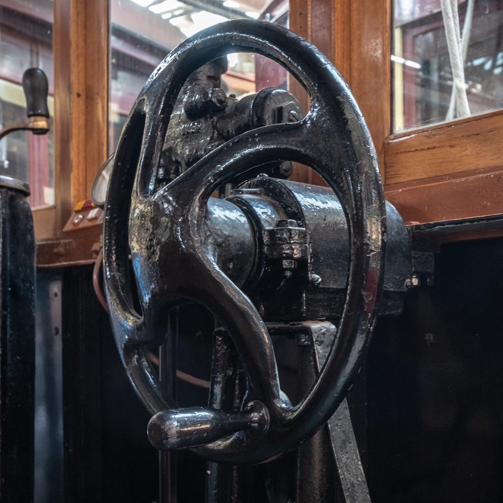 At the wheel by golftragic