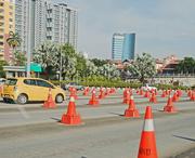 27th Oct 2018 - Traffic cones