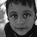 A child in Amman. Portrait of stranger#52