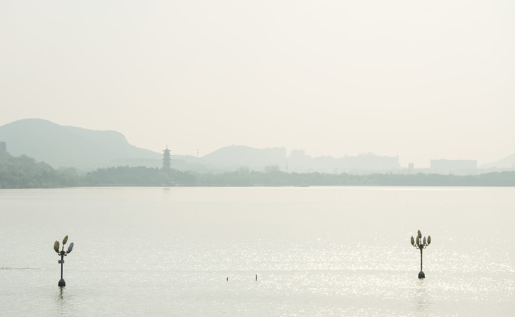 Pagoda in the distance by blueace