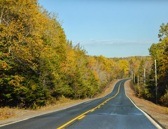 The empty roads of Nova Scotia by pamknowler
