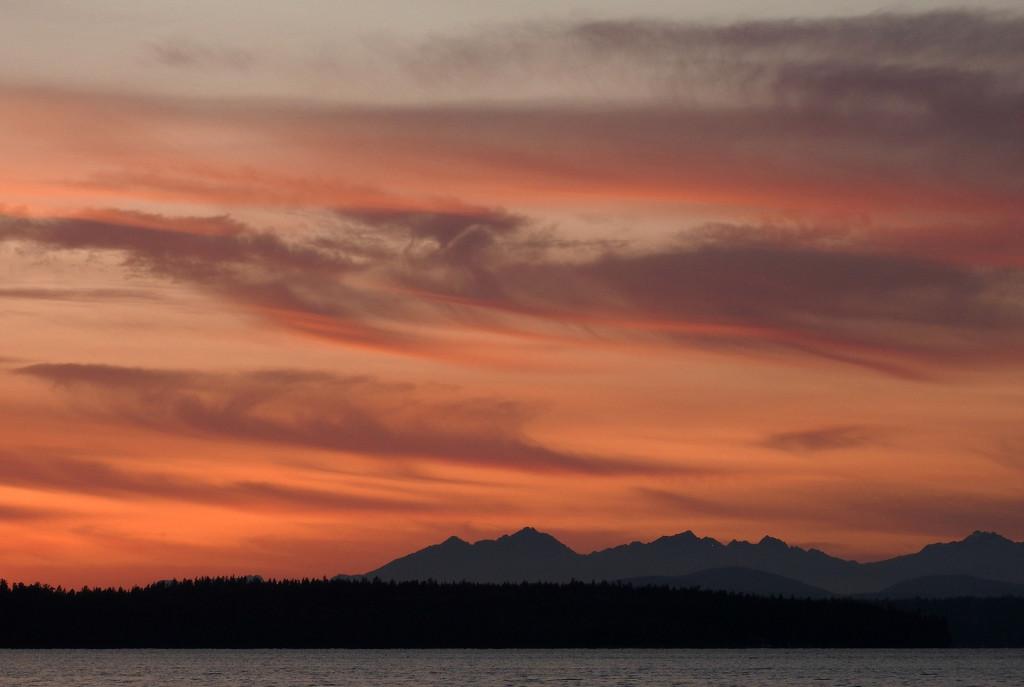 Seattle Sunset  by seattlite