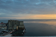 15th Nov 2018 - Castel Dell'Ovo at sunset