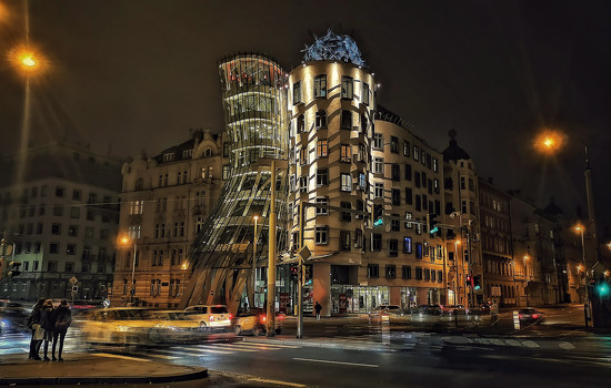 The Dancing Building by jack4john