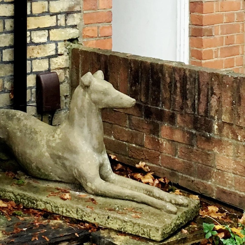 #8 dog statue 2 by denidouble