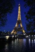 16th Nov 2018 - Eiffel Blue