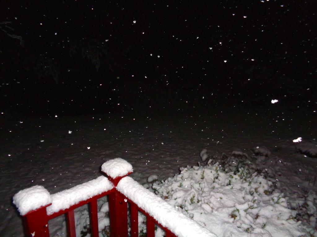 First snowfall of the season................. by sailingmusic
