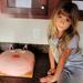Birthday Girl with Massive Cake