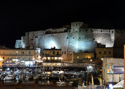 18th Nov 2018 - Castel dell'Ovo at night
