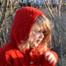 Our very  own  little Red Riding Hood