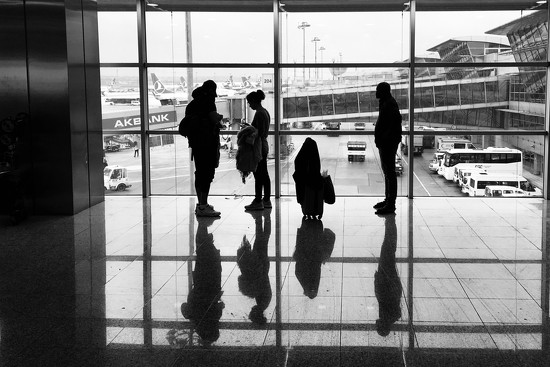 At Istanbul airport by vincent24