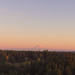 Mt Rainier and the Moon