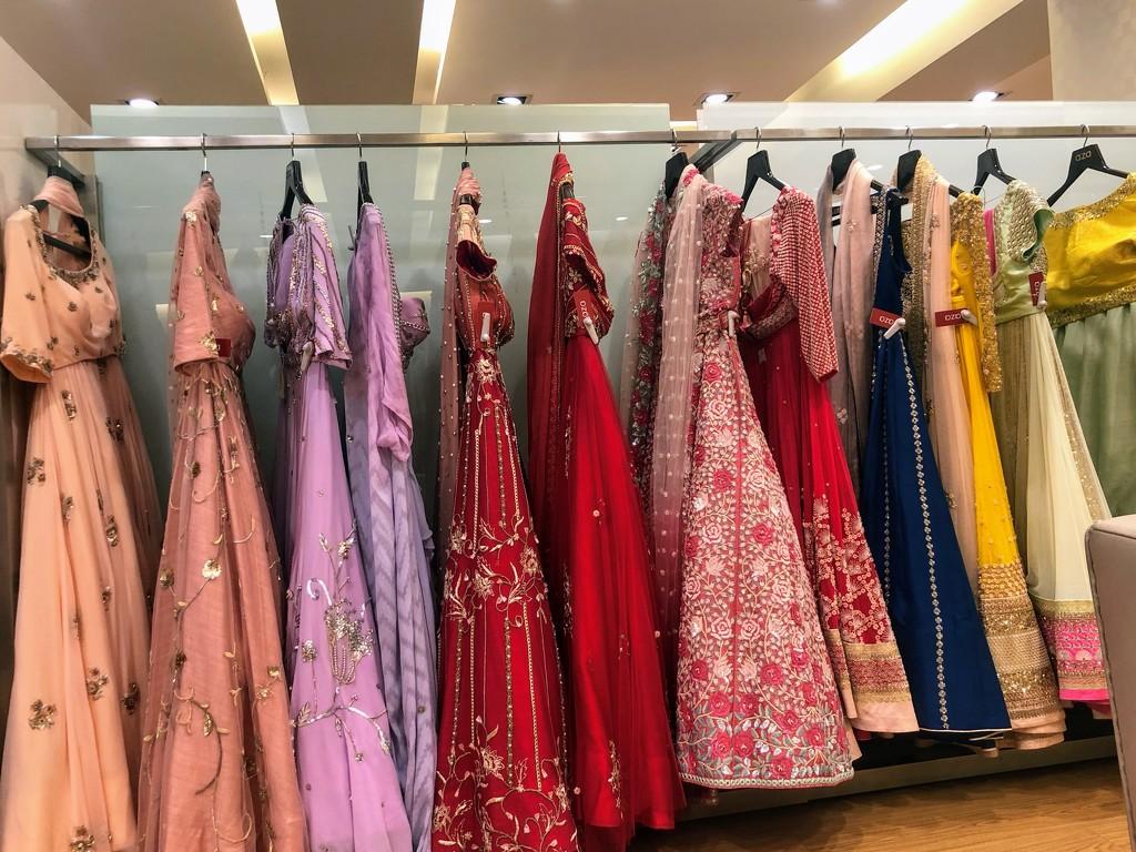 Choosing a party dress by veengupta