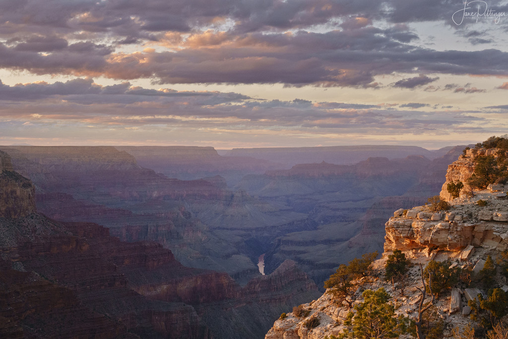 Grand Canyon Sunset by jgpittenger