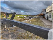 21st Nov 2018 - A view of a couple of the 7 locks of Barrowford