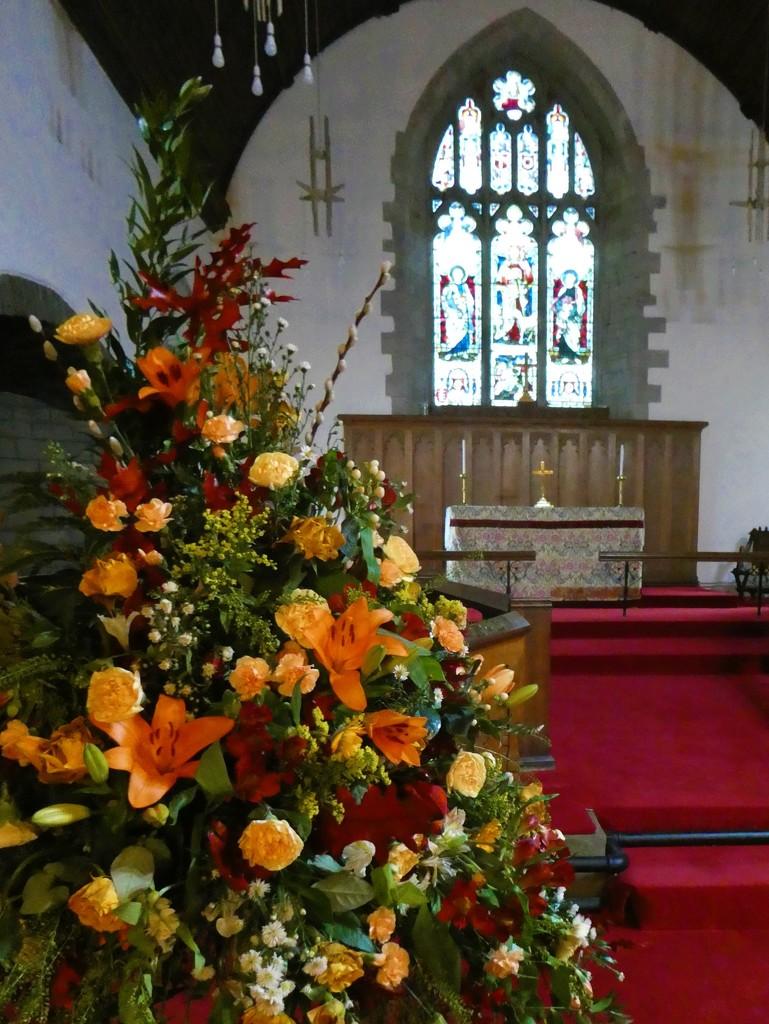 St. Gwendoline's Church, Talgarth by flowerfairyann