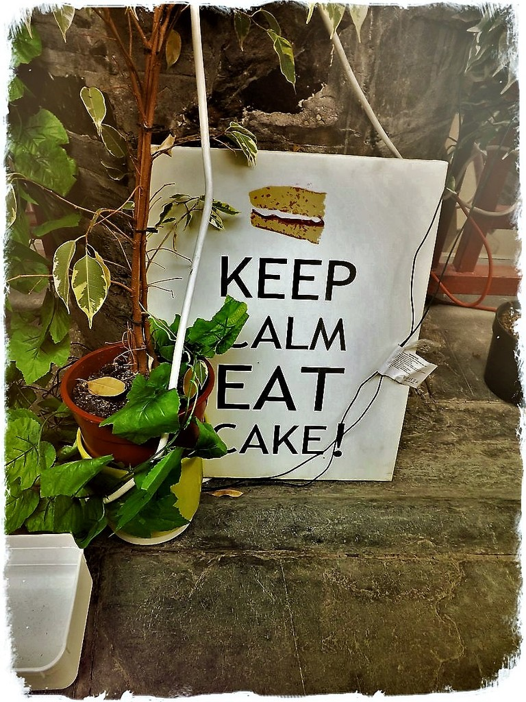 Keep Calm Eat Cake  by ajisaac