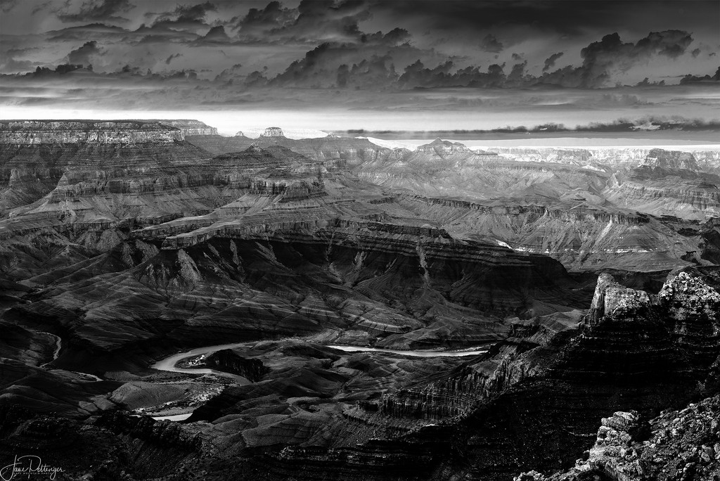 Snaking Colorado River Solarized by jgpittenger