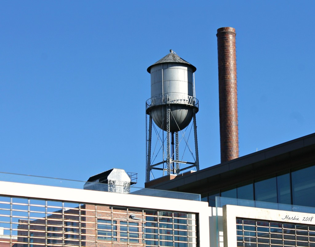Old Water Tower by harbie