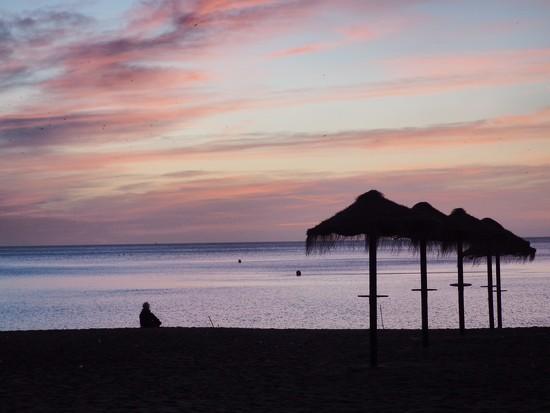 Sunrise in Malaga by jacqbb