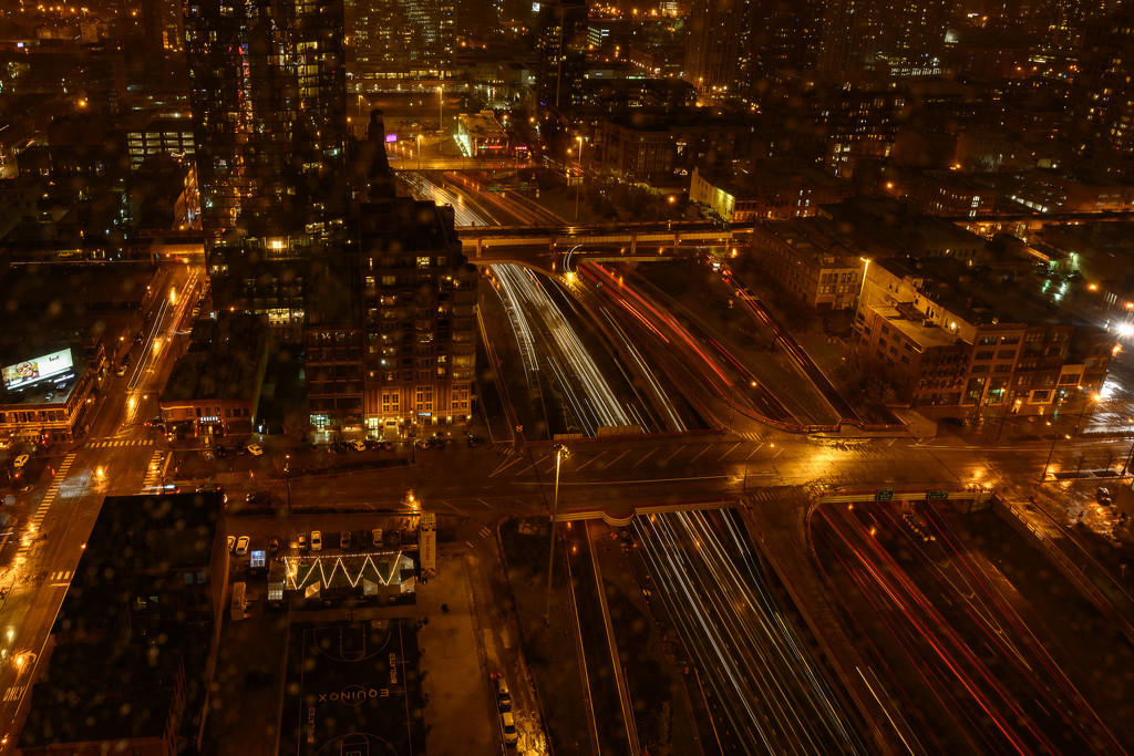 More Light Trails by taffy