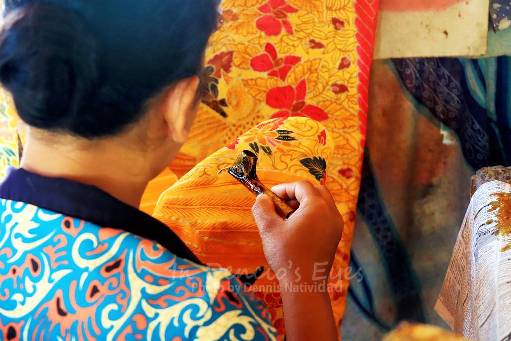 Batik Making by iamdencio