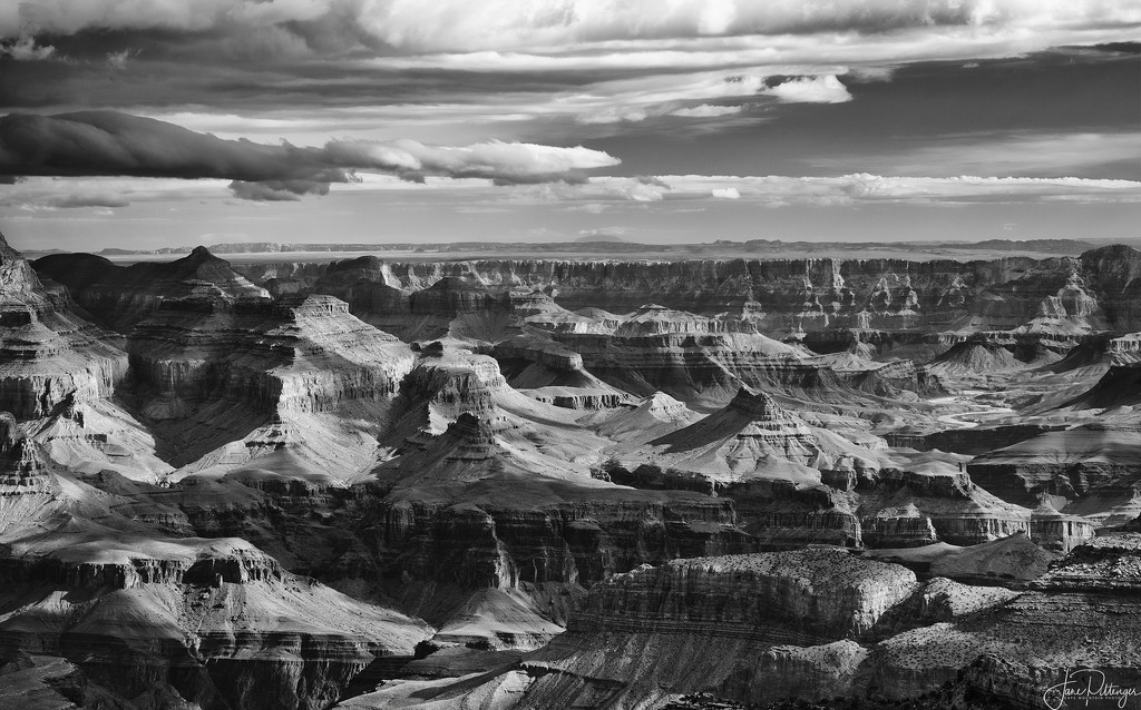 Grand Canyon for B and W  by jgpittenger