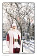 1st Dec 2018 - Envisioning Santa Outside My Front Door!