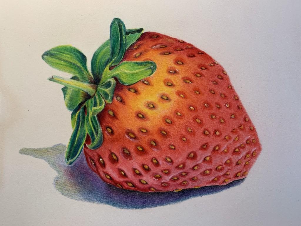 Juicy Strawberry by pesus