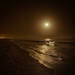 moonlit night over the Indian Ocean by jerome
