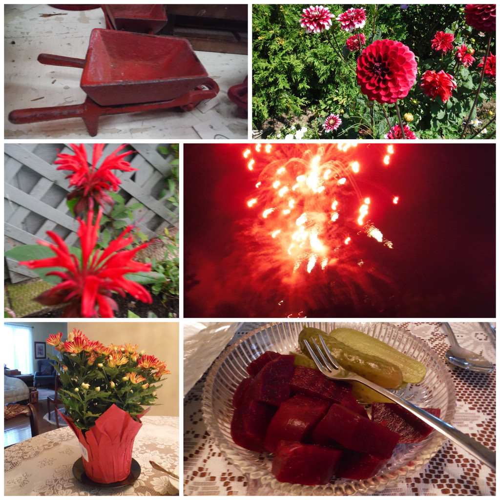 More Red Things by spanishliz
