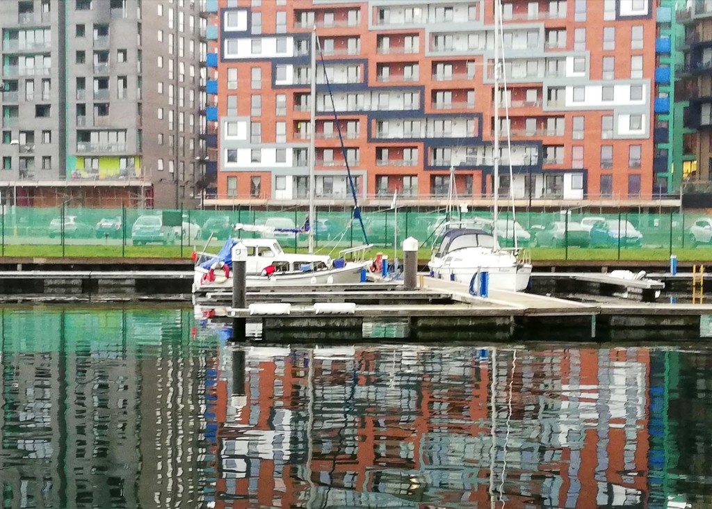 Waterside reflections.  by judithdeacon